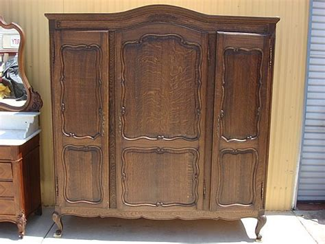 Bedroom Set With Wardrobe Closet - antique armoire wardrobe antique closet cabinet