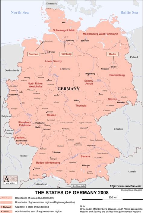free map of germany euratlas info member s area germany en lab col