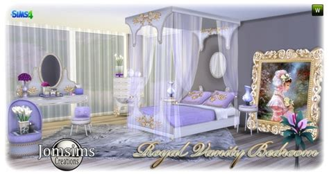 royal vanity bedroom  jomsims creations sims  updates