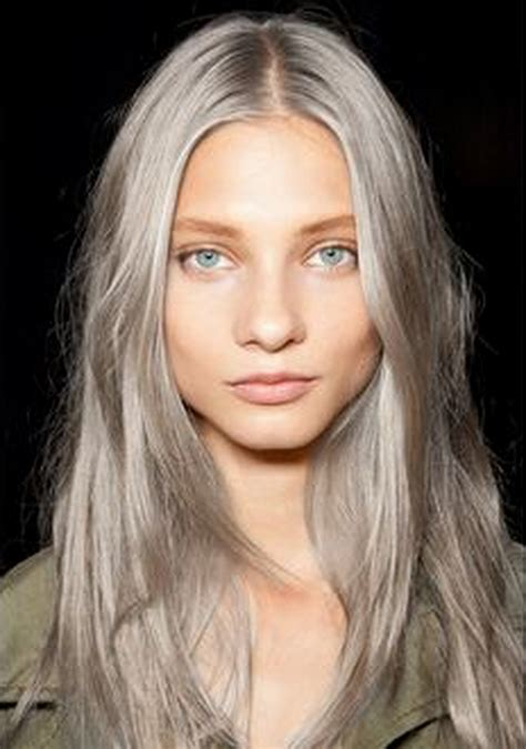 turning gray hair into blond highlights for black hair turning gray