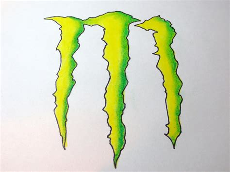 energy drink drawing how to draw energy drink logo