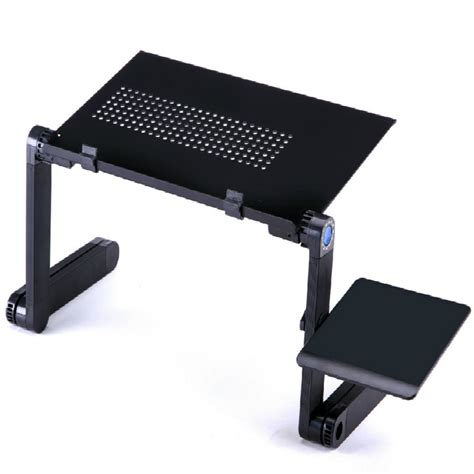 bed stand multi functional ergonomic mobile laptop table stand for