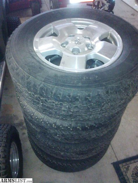 Toyota Tundra Stock Tire Size Armslist For Sale Gon E