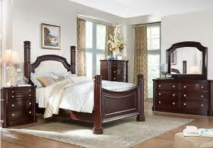 Rooms To Go Bedroom Sets Dumont 5 Pc King Low Poster Bedroom Bedroom Sets