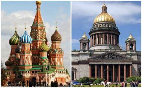 moscow and st petersburg in russia survival guide moscow vs st petersburg part 1 architecture