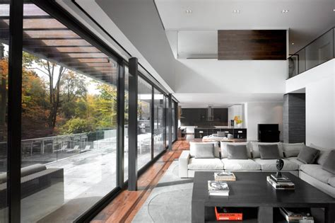 patio doors open plan living impressive modern home in