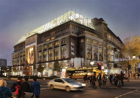 home design store berlin oma to tactically transform kadewe department store in berlin