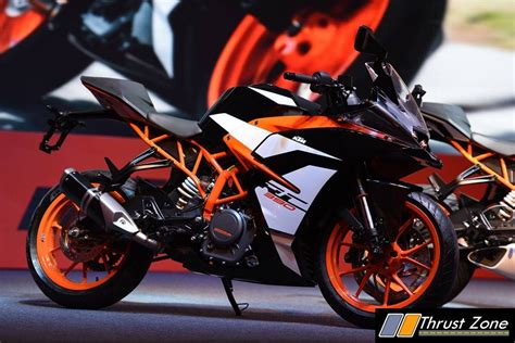 Ktm Rc 390 India 2017 Ktm Rc390 Launched At Rs 2 25 Lakhs Continues To