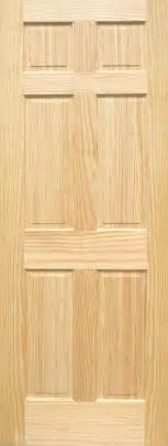 6 Panel Wood Interior Doors Pine 6 Panel Wood Interior Doors Homestead Doors