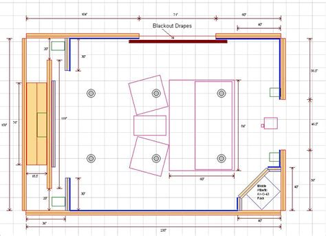 small home theater floor plan