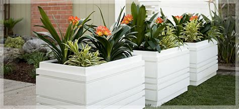 The Planters by Woodworkers Planters Row Garden Containers
