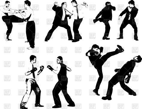 Martial Arts 4 martial arts clipart self defence pencil and in color