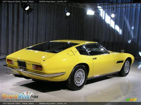 yellow maserati ghibli 1967 maserati ghibli yellow black photo 3 dealerrevs com