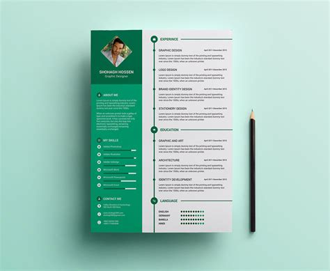 format e ktp psd free clean resume design template in psd format good resume