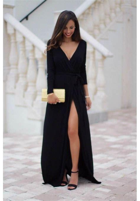 25  best ideas about Slit dress on Pinterest   Sexy