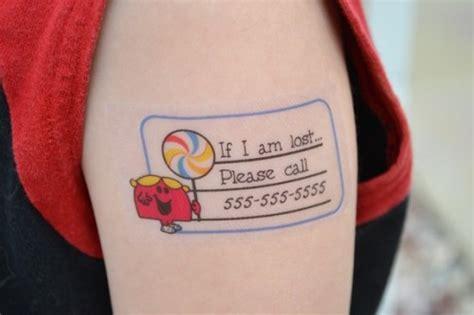 child safety temporary tattoos neatorama