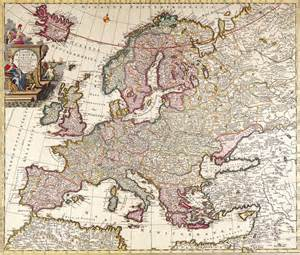 antique maps antique maps of the worldmap of europecarl allardc 1700
