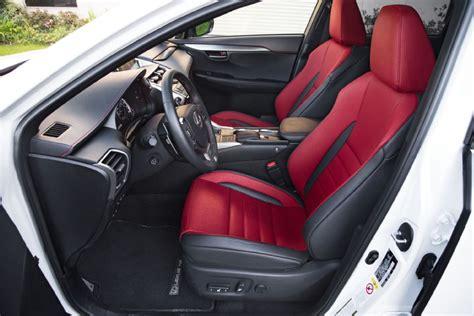 lexus nx 200t interior 2015 lexus nx 200t f sport front interior seats clublexus