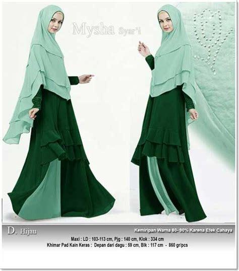Supplier Baju Rafisha Syari 02 Hq supplier baju gamis pesta polos bahan spandex dan ceruti