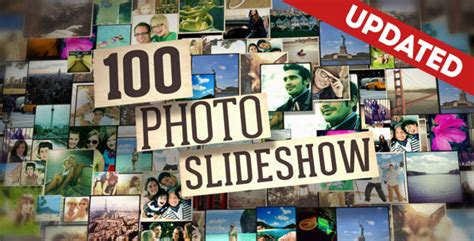 100 Photo Slideshow By Fluxvfx Templates Videohive Food Menu Slideshow After Effects Template Free