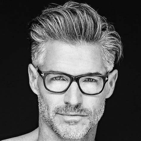 good looking men with grey hair hairstyles for older men grey hair long hairstyle and