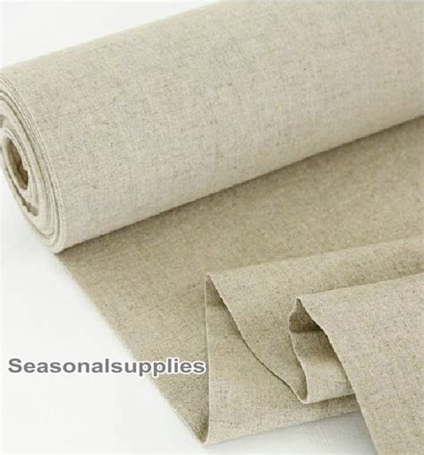 home decor weight fabric home decor weight fabric cloth natural pure linen cotton