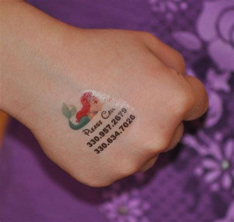 personalized temporary tattoos best 25 child safety ideas on safety