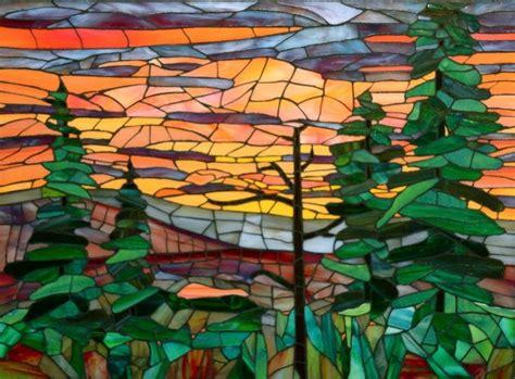 mosaic pattern landscape 606 best mosaic landscape images on pinterest mosaic art