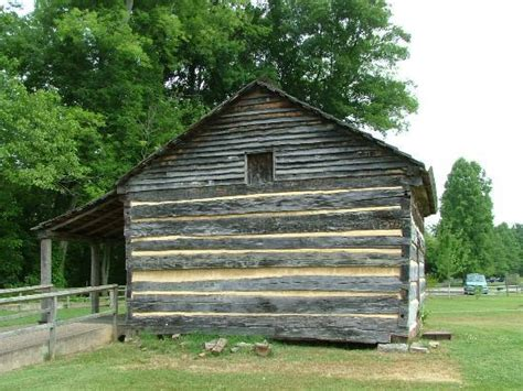 cabin picture of davy crockett birthplace state park
