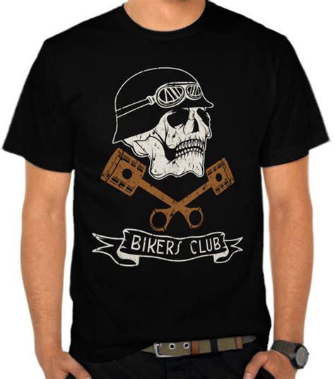 Kaos Racing Skull 1 jual kaos skull bikers club motor satubaju