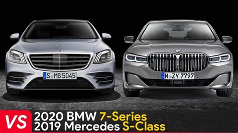 Bmw 7 Series 2020 Vs 2019 by 2020 Bmw 7 Series Vs 2019 Mercedes S Class Who Is The King
