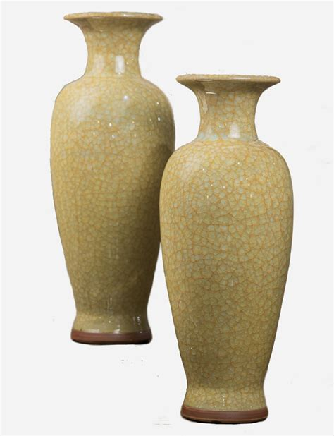 imperial home decor yellow imperial vase home decor