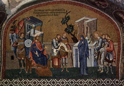 census of augustus caesar bible archaeology and roman estambul 3 186 san salvador de chora kariye sildavia9