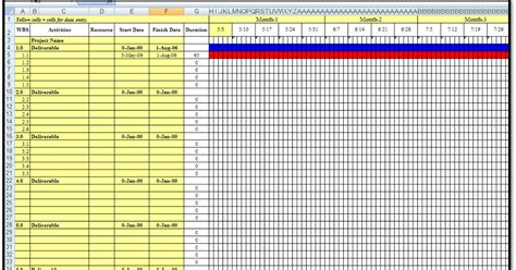 Help With Excel Spreadsheets by Excel Spreadsheets Help A Gantt Chart Excel
