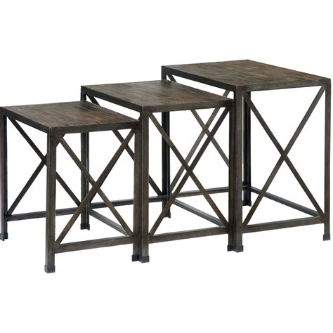nesting end tables living room signature design by ashley vennilux three nesting end
