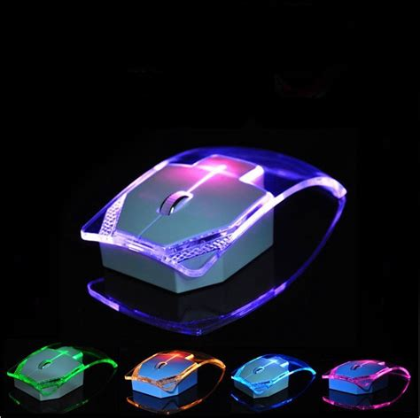 light up wireless mouse newest luminous colorful lights 2 4g wireless mouse ultra