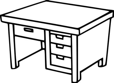 bureau dessin enfant coloriage bureau 233 colier 224 imprimer