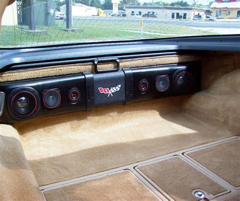 1978 corvette parts 1963 1982 corvette rear speaker 200w sound bar davies