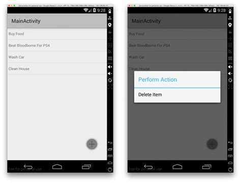 android tutorial todo list create a couchbase lite todo list with native android