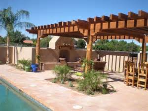 Saltillo Tile Patio Outdoor Living Scottsdale By Desert Green Creations