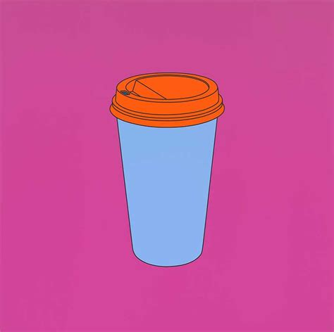 Coffee Cup by Recent Work Michael Craig Martin