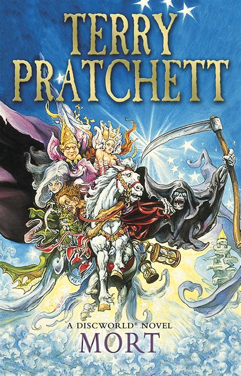 discworld novel 26 books book review mort terry pratchett sue