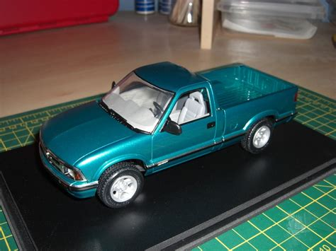 commercial vehicle model kits let s see your chevy s10 on the workbench pickups