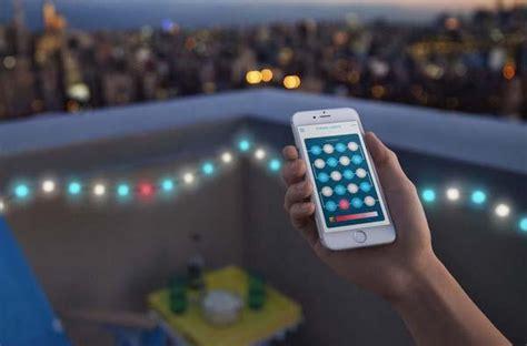app controlled string lights kaleido app controlled multicolor led string lights