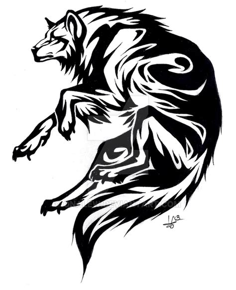 circle wolf tattoo by iwun on deviantart