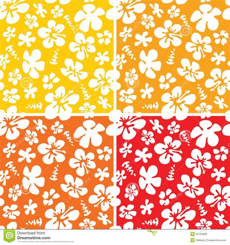 hawaii pattern free seamless hawaiian pattern royalty free stock photo image