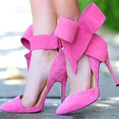 pink bow high heels shoes heels high heels pink pink shoes pink heels
