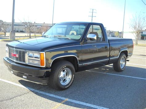 gmc registry 1993 gmc black shortbed the supercar registry