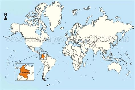 colombia on the world map forest quibdo licensed for non commercial use only