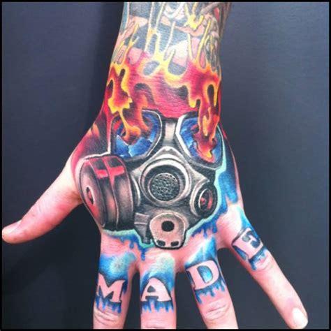 tattoo hand mask hand tattoos askideas com
